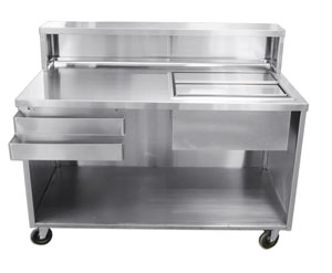 Stainless Steel Portable Beverage Bar